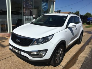 2014 Kia Sportage SL SLi White Sports Automatic.