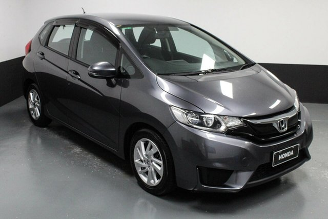 Used Honda Jazz GF MY17 VTi-L Hamilton, 2017 Honda Jazz GF MY17 VTi-L Grey 1 Speed Constant Variable Hatchback