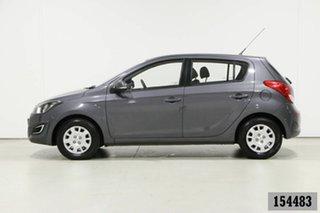 2015 Hyundai i20 PB MY14 Active Grey 6 Speed Manual Hatchback