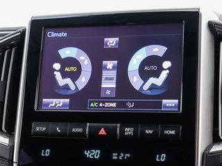 2016 Toyota Landcruiser VDJ200R MY16 Sahara (4x4) Black 6 Speed Automatic Wagon