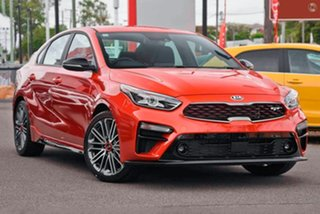2020 Kia Cerato BD MY21 GT DCT Orange 7 Speed Sports Automatic Dual Clutch Sedan.