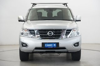 2019 Nissan Patrol Y62 Series 4 TI Silver 7 Speed Sports Automatic Wagon.