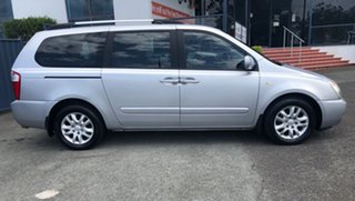 2010 Kia Grand Carnival VQ MY09 Platinum Tiptronic Silver 5 Speed Sports Automatic Wagon.