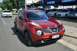 2013 Nissan Juke F15 TI-S (AWD) Red Continuous Variable Wagon.