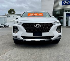 2020 Hyundai Santa Fe TM.2 MY20 Active X White Cream 8 Speed Sports Automatic Wagon.