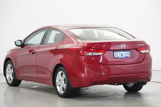 2013 Hyundai Elantra MD2 Elite YR7 : Brilliant Red, Mica Pain 6 Speed Sports Automatic Sedan