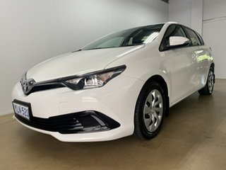 2016 Toyota Corolla ZRE182R MY15 Ascent White 7 Speed CVT Auto Sequential Hatchback
