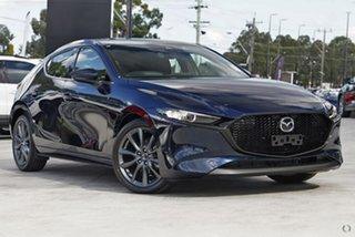 2020 Mazda 3 BP2H7A G20 SKYACTIV-Drive Touring Blue 6 Speed Sports Automatic Hatchback.