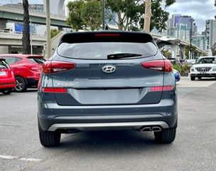2020 Hyundai Tucson TL3 MY21 Highlander (AWD) Dusk Blue 8 Speed Automatic Wagon