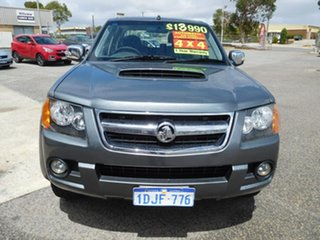 2010 Holden Colorado RC MY10.5 LT-R Crew Cab Grey 4 Speed Automatic Utility.