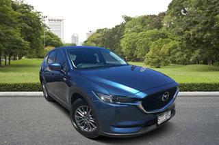 2017 Mazda CX-5 KE1072 Maxx SKYACTIV-Drive FWD Sport Blue 6 Speed Sports Automatic Wagon.