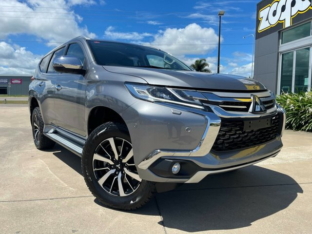 Used Mitsubishi Pajero Sport QE MY18 Exceed Townsville, 2018 Mitsubishi Pajero Sport QE MY18 Exceed Grey/290618 8 Speed Sports Automatic Wagon