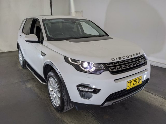 Used Land Rover Discovery Sport L550 16.5MY SE Maryville, 2015 Land Rover Discovery Sport L550 16.5MY SE White 9 Speed Sports Automatic Wagon