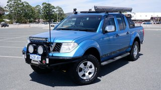 2009 Nissan Navara D40 ST-X Blue 5 Speed Automatic Utility.