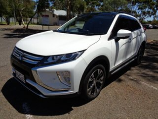 2017 Mitsubishi Eclipse Cross YA MY18 Exceed 2WD White 8 Speed Constant Variable Wagon
