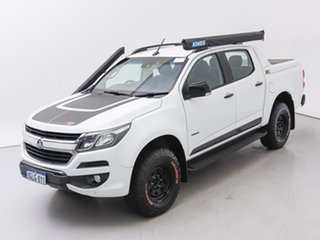 2017 Holden Colorado RG MY17 Z71 (4x4) White 6 Speed Manual Crew Cab Pickup