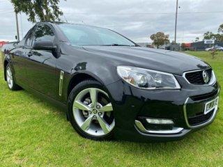 2016 Holden Ute VF II MY16 SV6 Ute Black 6 Speed Sports Automatic Utility.