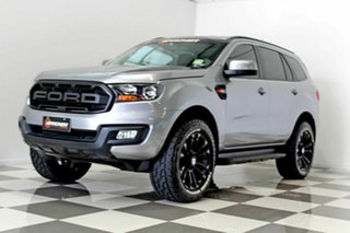 2018 Ford Everest UA II MY19 Ambiente (RWD 5 Seat) Grey 6 Speed Automatic SUV.