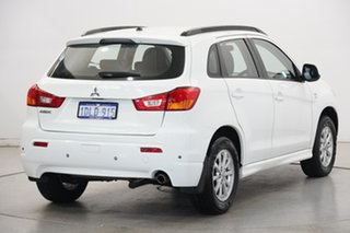 2010 Mitsubishi ASX XA MY11 Aspire White 6 Speed Constant Variable Wagon