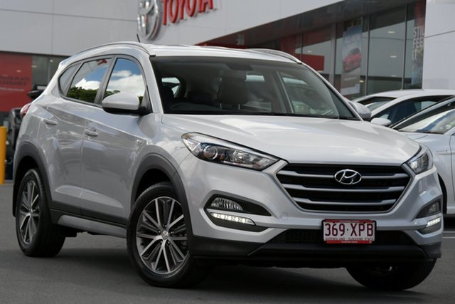 Pre-Owned Hyundai Tucson TL MY17 Active X 2WD Woolloongabba, 2017 Hyundai Tucson TL MY17 Active X 2WD Silver 6 Speed Sports Automatic Wagon
