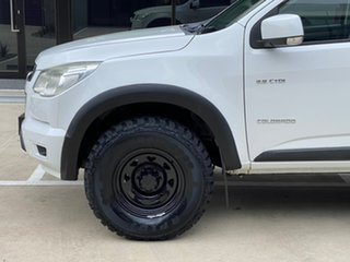2013 Holden Colorado RG MY13 LX Crew Cab 4x2 White 6 Speed Sports Automatic Utility