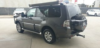 2012 Mitsubishi Pajero NW MY12 GLS Grey 5 Speed Sports Automatic Wagon