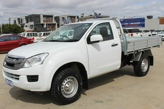2016 Isuzu D-MAX MY15.5 SX 4x2 High Ride White 5 Speed Sports Automatic Cab Chassis