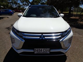 2017 Mitsubishi Eclipse Cross YA MY18 Exceed 2WD White 8 Speed Constant Variable Wagon.