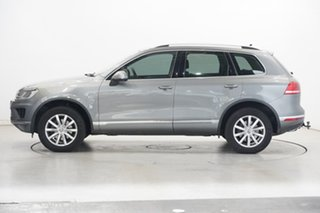 2016 Volkswagen Touareg 7P MY16 150TDI Tiptronic 4MOTION Canyon Grey 8 Speed Sports Automatic Wagon.
