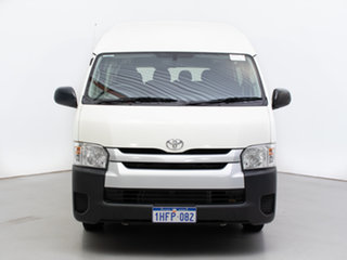 2015 Toyota HiAce KDH223R MY14 Commuter White 4 Speed Automatic Bus.