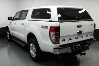 2017 Ford Ranger PX MkII 2018.00MY XLT Double Cab White 6 Speed Sports Automatic Utility