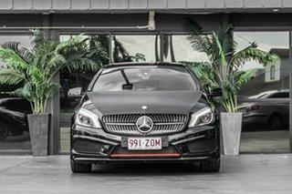 2014 Mercedes-Benz A-Class W176 A250 D-CT Sport Black 7 Speed Sports Automatic Dual Clutch Hatchback.