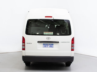 2015 Toyota HiAce KDH223R MY14 Commuter White 4 Speed Automatic Bus