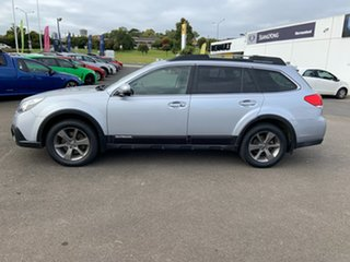 2013 Subaru Outback B5A MY14 3.6R AWD Premium Ice Silver 5 Speed Sports Automatic Wagon