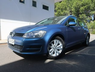 2013 Volkswagen Golf VII MY14 90TSI Comfortline Blue 6 Speed Manual Hatchback.