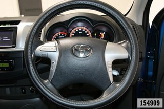 2013 Toyota Hilux GGN25R MY12 SR5 (4x4) Tidal Blue 5 Speed Automatic Dual Cab Pick-up