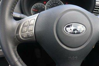 2008 Subaru Impreza G3 MY09 R AWD Satin White 4 Speed Sports Automatic Sedan