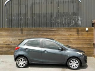 2012 Mazda 2 DE10Y2 MY12 Neo Grey 4 Speed Automatic Hatchback.