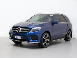 2017 Mercedes-Benz GLE350d 4Matic 166 MY17 Blue 9 Speed Automatic Wagon.