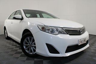 2014 Toyota Camry ASV50R Altise White 6 Speed Sports Automatic Sedan.