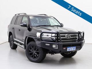 2016 Toyota Landcruiser VDJ200R MY16 Sahara (4x4) Black 6 Speed Automatic Wagon.