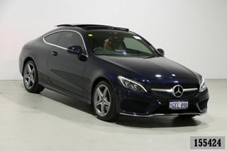 2017 Mercedes-Benz C200 205 MY17 Blue 9 Speed Automatic G-Tronic Coupe