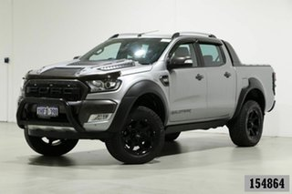 2016 Ford Ranger PX MkII Wildtrak 3.2 (4x4) Grey 6 Speed Manual Dual Cab Pick-up.