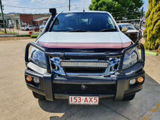 2012 Isuzu D-MAX MY12 LS-U Crew Cab White 5 Speed Manual Utility