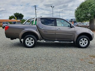 2015 Mitsubishi Triton MN MY15 GLX-R Double Cab Brown 5 Speed Sports Automatic Utility
