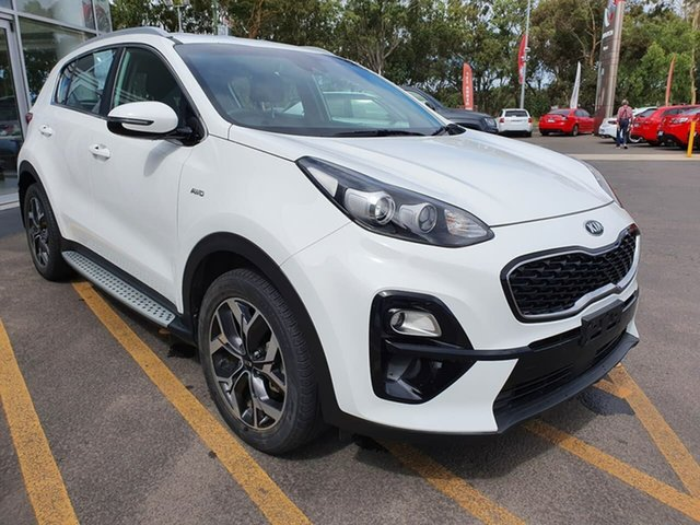 Used Kia Sportage QL MY18 AO Edition AWD Epsom, 2018 Kia Sportage QL MY18 AO Edition AWD White 6 Speed Sports Automatic Wagon