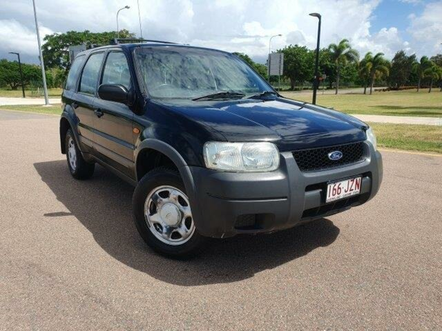 Used Ford Escape ZB XLS Townsville, 2005 Ford Escape ZB XLS Black 4 Speed Automatic SUV