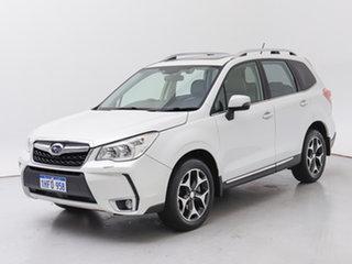 2013 Subaru Forester MY12 XT White 4 Speed Auto Elec Sportshift Wagon.