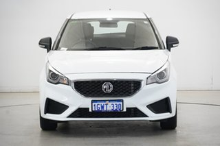 2019 MG MG3 SZP1 MY18 Core Dover White 4 Speed Automatic Hatchback.