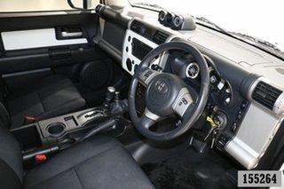 2013 Toyota FJ Cruiser GSJ15R White 5 Speed Automatic Wagon